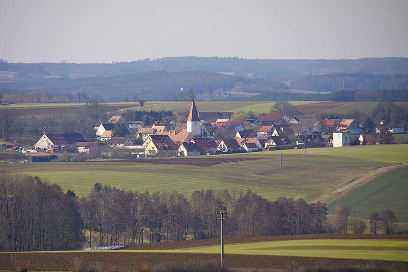 Fiegenstall, Ortsteil der Gemeinde Höttingen. Foto: Mef.ellingen (CC BY-SA)