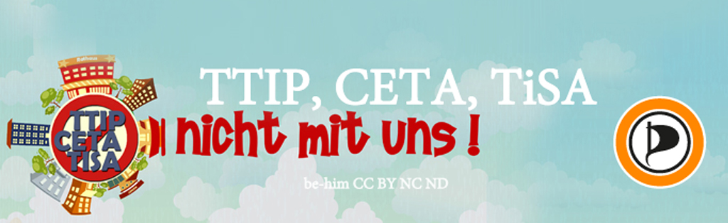 TTIP CETA TISA - NICHT MIT UNS - be-him CC BY NC ND