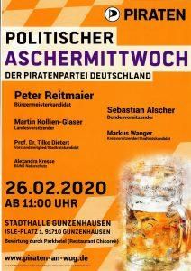 Politischer Aschermittwoch @ Stadthalle Gunzenhausen